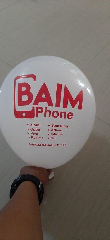 jasa pembuatan balon sablon