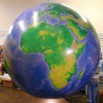 balon globe miniatur