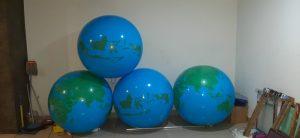 balon bola globe