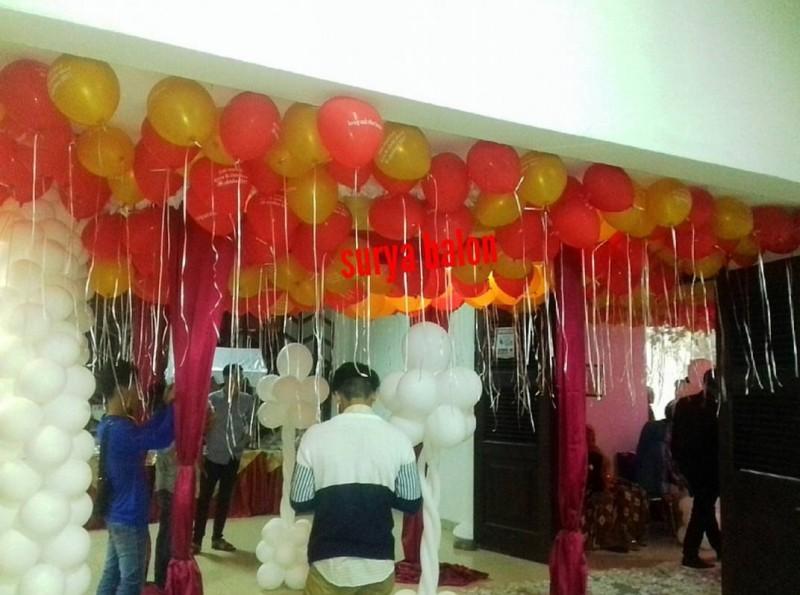 balon pesta ulang tahun