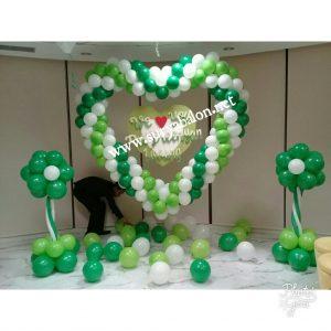 dekorasi balon simple