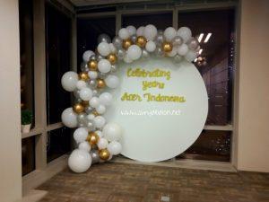dekorasi balon simpe