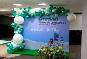 dekorasi balon backdrop