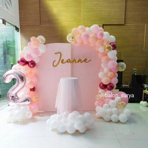 dekorasi balon ulang tahun kekinian