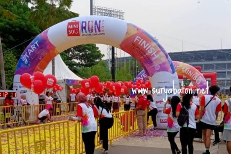 jual balon gate start finish