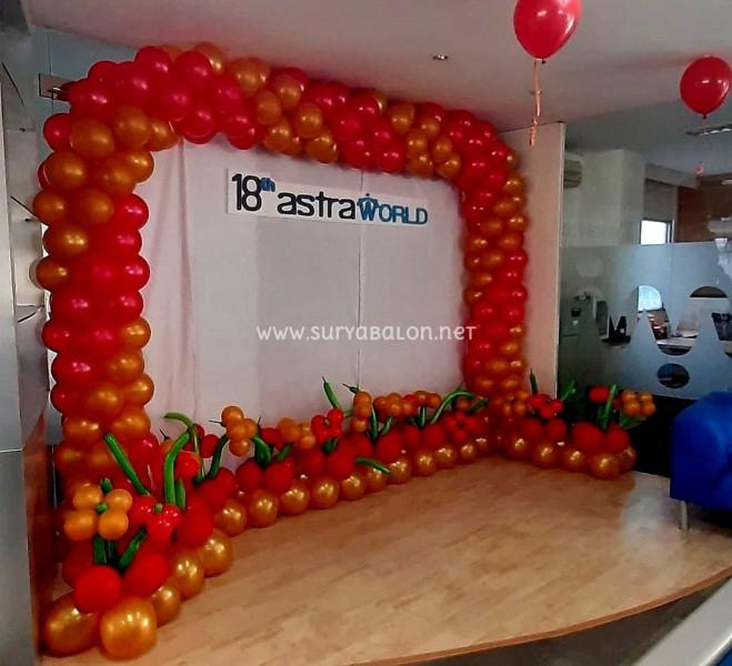dekorasi balon astra world