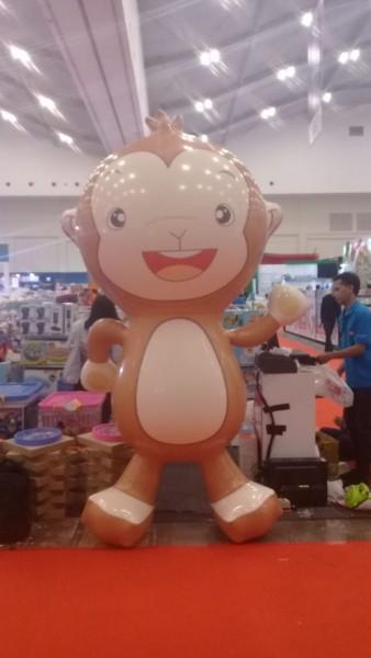 balon display karakter