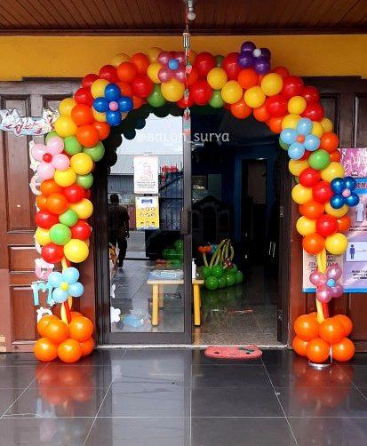 dekorasi balon pintu