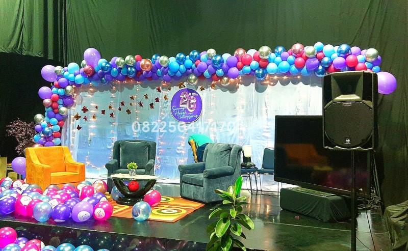 dekorasi balon MNC Sky Vision