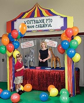 balon dekorasi pameran