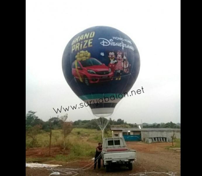 balon udara promosi