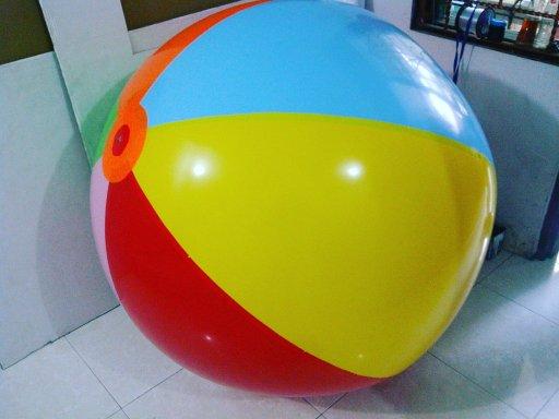 jual balon pantai