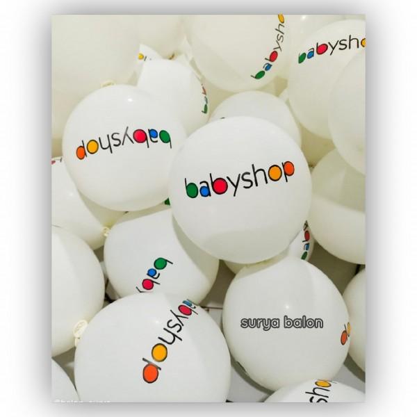 balon sablon 6 warna